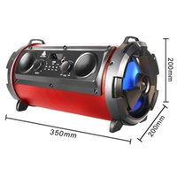 Wholesale high bass mp3 player for sale - 15W Big Wireless Bluetooth Speaker Outdoor Subwoofer LED Light Stereo Bass HIFI MP3 Music Player DJ Good Sound Speakers High Quality