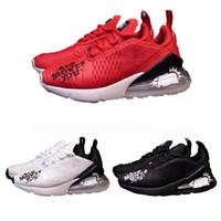 Wholesale fahion shoes - 2018 Graffiti 270 GOT Moves You 27C Cactus Running Shoes Fahion Designer Black White Red Sport Sneakers Light Jogging Shoe Doubke Boxed