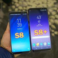 neues handy freischalten großhandel-Entsperrtes neues Goophone S8 S8 plus androider Smartphone MTK6580 64-Bit Octa Kern 2GB / 16GB 8MP Kamera 3G WCDMA S8 S8 + Handy
