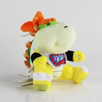 "Wholesale super mario bowser toys - Hot ! King Koopa Jr Super Mario Bros Bowser Koopa Plush Doll Soft Toy For Child Best Gifts 7"" 18cm"