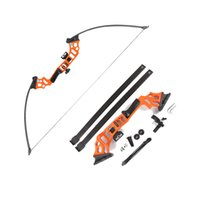 ingrosso frecce di riposo-30-40lbs Tirown Tirown Straight Bow Con Bow String Arrow Rest Sight Hunting Shooting Destra Sport all'aria aperta