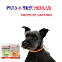 Wholesale dog collars flea resale online - Flea and Tick Collars for Medium Large Dog from weeks onwards or over lb Month Protection