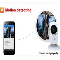 wifi webcamüberwachung großhandel-1080x720P drahtlose IP-Kamera tragbare intelligente Wifi CCTV-Überwachungskamera Webcam Überwachungs-Camcorder Nachtsicht Audio Video Telecamera
