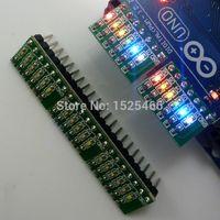 принтер arduino оптовых-5шт DC 3-12V 6 бит многоцветный светодиодный модуль платы для Arduino DUE UNO MEGA2560 MEGA Leonardo Tre Zero Ethernet Shield 3d принтер