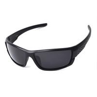 6c33eea567 plástico polarizado al por mayor-TAGION Gafas de Sol Polarizadas de  Plástico Negro Hombres Deportes