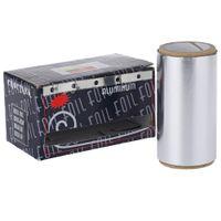 Hot selling 7M Polish Nail Art Soak Off Aluminum Silver Foil Styling Tool Remover UV Gel Wraps Simple Design Functional Beautiful 7M Polish Nail Art