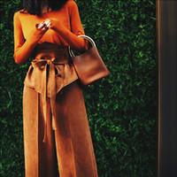 ультра широкий женский пояс оптовых-New Fashion  Faux Suede fabric Super wide waist Belt for women Designer Slim Ultra Wide belt dress accessories Waistband