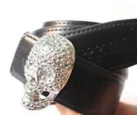 Wholesale skull silver belt buckle - Hot Brand P Belt high Quality 4 colors Genuine Leather Designer Skull punk Cowhide Q Belts For Mens womens Luxury MC Belts for gift.