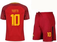 Wholesale roma football jersey for sale - The latest Thai jersey free home delivery roma football jersey DZEKO EISHAARAWY PEROTTI TOTTI roma soccer jersey