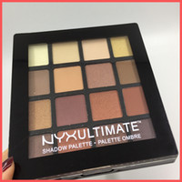 Wholesale new ultimate - Factory Direct DHL Free Shipping NEW Makeup Eyes NYX 16colors ULTIMATE Shadow Palette Ombre Eyeshadow Shimmer Matte Makeup Cosmetics palette
