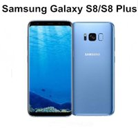 Wholesale fingerprint recognition - original samsung galaxy S8 S8 plus Octa Core 4GB RAM 64GB ROM Iris scan Face Recognition Fingerprint 12.0MP 4G LTE refurbished phone