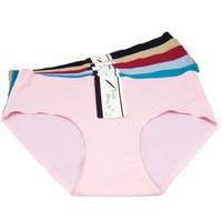 Wholesale Boyleg Underwear - 2016 seamless panties high waist hipster big size brief ultra thin women boyshort sexy inble lady boyleg women underwear