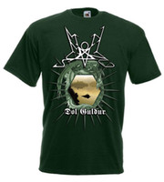 Wholesale metal austrian resale online - Summoning Dol Guldur bottle green t shirt Austrian black metal