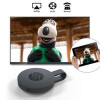 flamalar sopa toptan satış-MiraScreen G2 Kablosuz WiFi Ekran Dongle Alıcı 1080 P HD TV Sopa Airplay Miracast Medya Streamer Adaptörü Medya için Google Chromecast 2