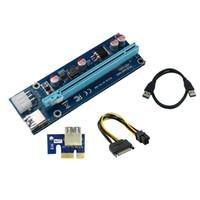 condensateurs de puissance achat en gros de-Adaptateur de colonne montante en PU Ethereum Miner Riser Card Condensateurs solides de haute qualité pour une alimentation stable et sûre. - Régulation de tension multiple