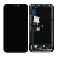 iphone lcd ekran oem toptan satış-OEM Yeni 5.8 Inç OLED LCD Dokunmatik Ekran Digitizer Değiştirme Yeni iPhone X 10 Için
