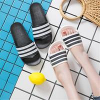 Wholesale winter indoor slippers men resale online - Summer Lovers Slipper Outdoor Indoor Non Slip Soft Sole Shower Room Sandals Man Women Brand Designer Shoes fy Ww