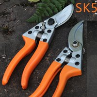 Wholesale tree trimmers for sale – custom Pruning Shears Bypass Pruners and Ergonomic Flower Fruit Tree Cutter Grafting Tool Garden Scissors Trimmer Cutter Garden Tool