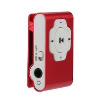 musica deportes mp3 al por mayor-Mini Soporte USB portátil para reproductor de MP3 32 GB Tarjeta Micro SD TF Deporte de la música Medios de comunicación de plástico Tener clic Fácil Llevar Sonido elegante 10Nov 1