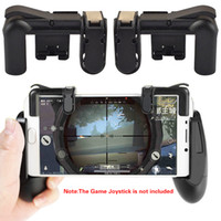 xbox pad'leri toptan satış-Akıllı telefon Cep Oyun Tetik L1R1 Shooter Denetleyicisi Bıçaklar out Survival Mobil Oyun Kuralları Yangın Düğmesi Ile Amaç Anahtar ped