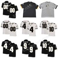 jersey de fútbol de élite blanco al por mayor-Fútbol de UCF Knights College 10 McKenzie Milton Jersey Hombres Personalizado Cualquier número de nombre 11 Matthew Wright 4 TreQuan Smith 9 Adrian Killins Jr
