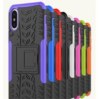 Wholesale cell phone case galaxy s4 - Case New Heavy Duty Strong Silicone Cover Shockproof Cell Phone Case For Samsung Galaxy S4 S5 Iphone 5 5S 5C Tough Note8 S8 S8Plus