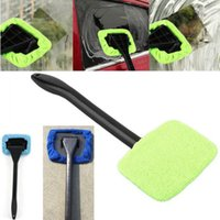 Wholesale glass for vehicles - Cleaning Brushes Car For Windshield Wiper Towel Brush Vehicle Windshield Shine Care Dust Remover Auto Home Window Glass Cleaner HH7-1099