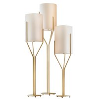 Wholesale post stands - Modern simple led floor lamps post modern living room bedroom study room standing lamp reading creative light fixture European