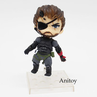 Wholesale metal gear model - gear solid Metal Gear Solid V The Phantom Pain Snake 565# Venom Snake Sneaking Suit Ver. PVC Action Figure Collectible Model Toy 10cmKT3442