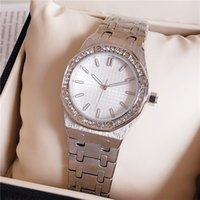 Wholesale High Quality Fashion Crystal Inlay Women Wrist Watch Quartz Movement Women Party Dress Clock Watch Cheap Price