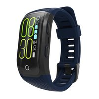 отслеживание gps браслетов оптовых-GPS-запись дорожки движения профессиональный открытый цветной экран Умный браслет здоровье мульти-движение мониторинг оптического динамического сердечного ритма