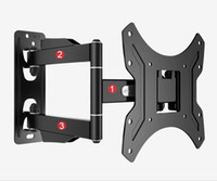 14-дюймовые телевизоры оптовых-Loctek PSW731S2 Full Motion 14-42 inch TV Wall Mount LED LCD Monitor Holder Arm Bracket Max.Loading 25kgs VESA 200*200mm