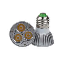 Wholesale spotlight mr16 for sale - X100 High power Led Lamp GU10 E27 B22 MR16 E14 W V Led spot Light Spotlight led bulb downlight lighting