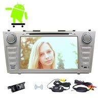 Wholesale car dvd android toyota resale online - Android Car DVD Player GPS Radio Stereo for TOYOTA CAMRY Capacitive Touch Screen HD p GPS Navigation Mirror Link