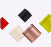 mini-tee-hülle großhandel-200 stücke 47x45mm Mini Kleine Teedose Metall Zinn Aufbewahrungsboxen Süßigkeiten Fall Organizer Box Kostenloser Versand