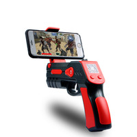 Wholesale guns shoots toys online - New plastic Electronic Toy Gun Style and plastic bullet gun Type gun with shooting games D virtual shooting