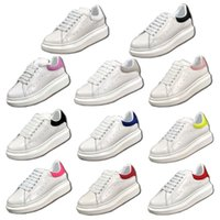Wholesale queen cotton - 2018 Newest Alexander Queen Luxury White Skateboarding Shoes Mens Womens Oversized Fashion Ultra Sport Sneakers Superstar Casual Trainers