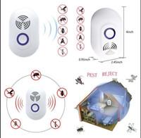 elektronischer pest nagetier repeller großhandel-Pest Reject Electronic Insets und Nagetiere abwehren Ameisen Mäuse Bugss Ultraschall-Pest Repellent Pest Repeller KKA4358