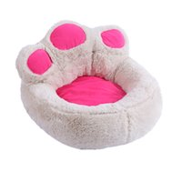 Wholesale small pet houses resale online - Dogs House Pink Dog Bed Small Large Mattress Sleeping Bag Hause Sofa Pet Cushion Beds for Cats Mat Chihuahua Luxury Kennel Cover Tent