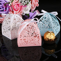 Wholesale chocolate wholesale china for sale - Laser Cut Rose Pyramid Chocolates Beautiful Favor Canday Weddiing Decoration Hot Sale Cheap Boxes From China