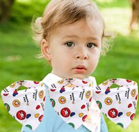 Wholesale Triangle Scarf Boy - Hot selling 100% Cotton Baby Bibs Girls And Boys Towel Bandanas Triangle Scarf Infant Drool Bibs