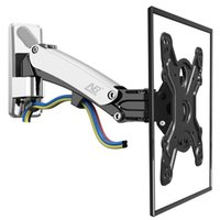 Wholesale Tv Lifts - NB F400 TV Wall Mount Swivel 50-60 inch Monitor Arm Holder Gas Spring Free Lift Full Motion Aluminum Alloy Rotating VESA Stand