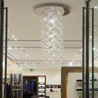 ingrosso luci a soffitto di vetro a bolle-Lampada da tavolo moderna a forma di bolla di vetro da soffitto con luce a sospensione, bancone da bar ristorante