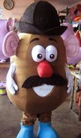 eva cabeça venda por atacado-Mr Potato Head Mascot Costume Adulto Mr Potato Head Costume For Sale