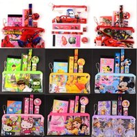 Wholesale Wholesale School Suppliers - Spiderman Kids Pencil Case Stationery Cute School Supplier Pouch Boy Girls