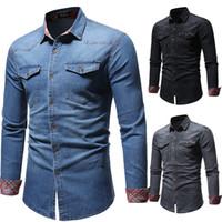 Wholesale formal clothes online - Luxury Men s Dress Shirts Formal Evening Streetwear Male Polo Designer Shirts Men Boss Clothing Vetement Chemises habillées pour hommes