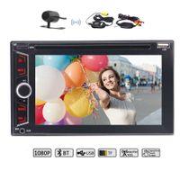 "Wholesale Mp5 Videos - Eincar 6.2"" Double Din Bluetooth Car dvd Stereo MP5 Radio Video Player FM AM RDS Radio SWC USB Subwoofer AUX 1080P Video&camera"