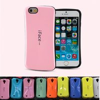 Wholesale Iface Mall - Iface Mall Case For Iphone 6 7 8 plus X Cases For Galaxy Note 8 S8 PLUS Shock Proof Hybrid Candy Colors Cases Opp package