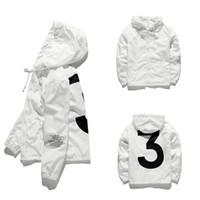 jaquetas de homens de qualidade venda por atacado-2018 homens KANYE WEST Jaqueta Hip Hop Blusão de moda designer de jaquetas Homens Mulheres Streetwear Outerwear Casaco de alta qualidade JK001