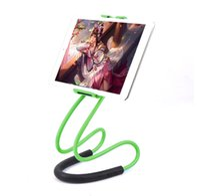 beste telefon steht großhandel-Lazy Neck Phone Holder Stand für iPhone Schreibtisch 360-Grad-Drehung Handy Halterung Handy-Halter stehen
